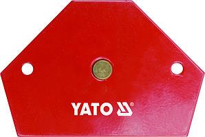 Струбцина магнитная для сварки 11,5 кг 64х95х14 мм - Yato