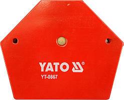 Струбцина магнитная для сварки 34 кг, 111х136х24 мм - Yato