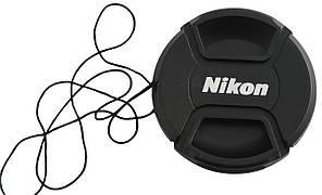Dilux - Nikon крышка для объектива, диаметр - 62мм, со шнурком