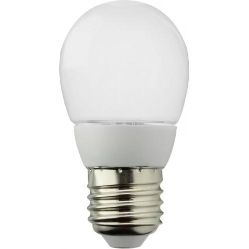 Лампа светодиодная ROI G45P-220-240V, 6W, 500lm, E27 4100/6400K