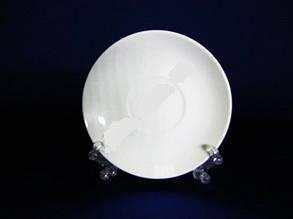 Блюдце отдельное белое 5,75 Saucer-Bell 14.5 см керамика