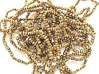 Стекло 2мм 195 шт золото