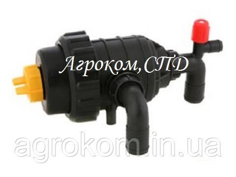 Фильтр опрыскивателя всасывающий с клапаном - патр. 32 мм