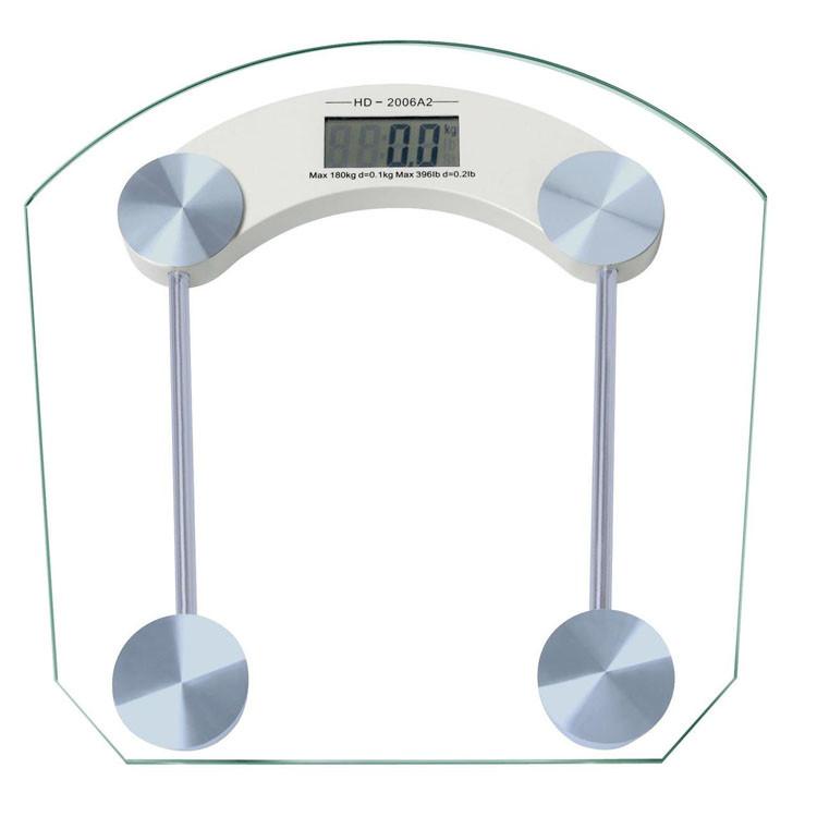 Весы напольные Domotec MS-2003B до 180кг электронные квадратные стеклянные стекло Домотек MS 2003B 2003