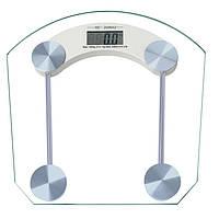 Весы напольные Domotec MS-2003B до 180кг электронные квадратные стеклянные стекло Домотек MS 2003B 2003, фото 1