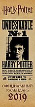 Гарри Поттер. Календарь-планер настенный на 2019 год (160х490 мм)