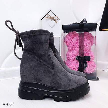 Ботинки высокие демисезонные, фото 2
