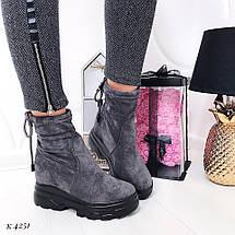 Ботинки высокие демисезонные, фото 3