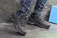 Мужские ботинки зимние темно синие Adidas Terrex 465 6958