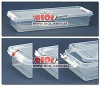 Емкость для хранения продуктов 2,5л 36х13см пластиковая прямоугольная Hobby Life HL-1061