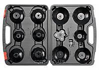 """Торцеві головки до оливних фільтрів двигуна М 65 - 120 мм з квадр. 3/8"""" і 1/2""""; компл. 13 шт. [5]"""