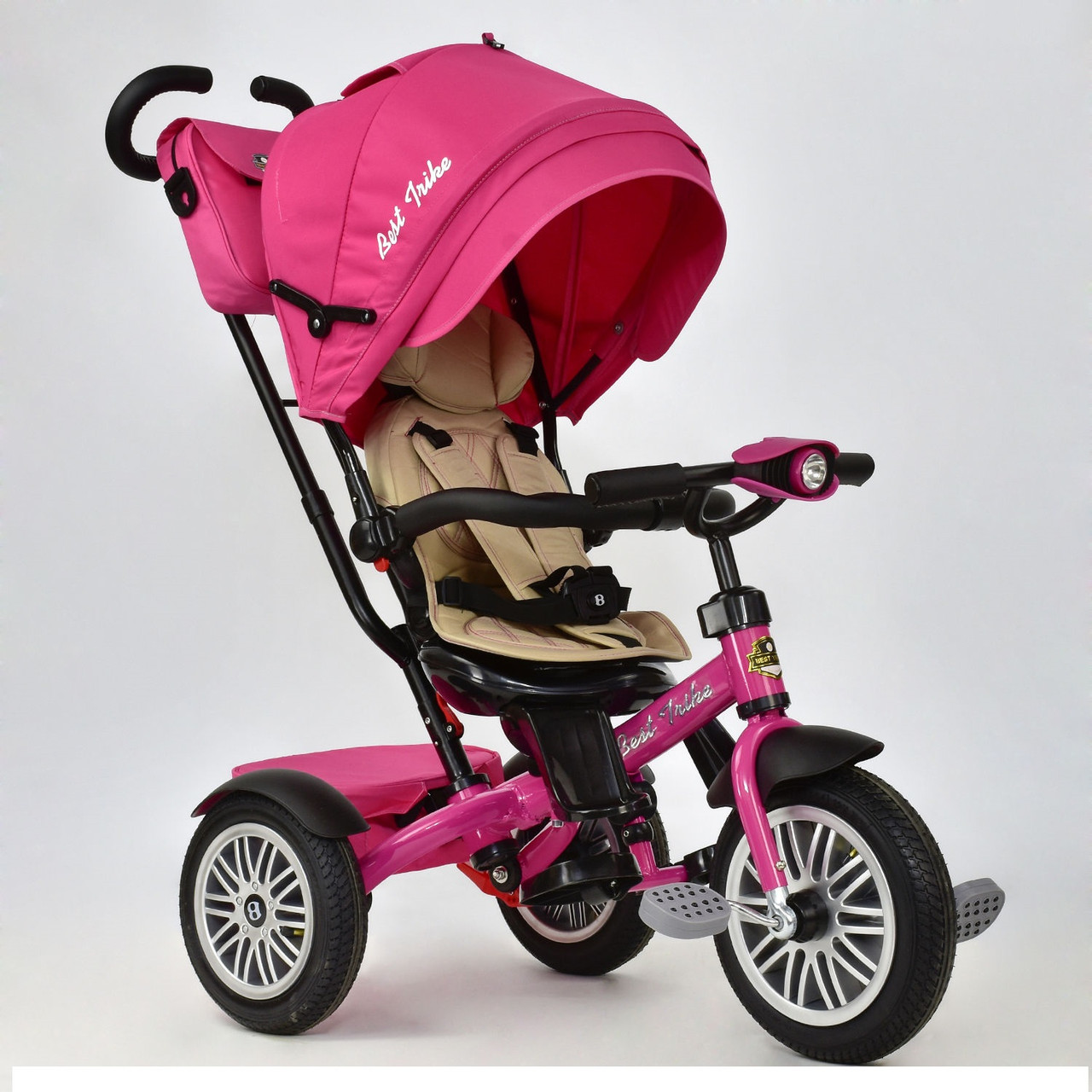 Велосипед трёхколёсный 6188 В  Best Trike розовый