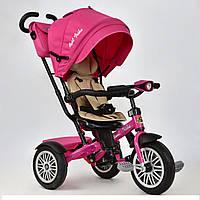 Велосипед трёхколёсный 6188 В  Best Trike розовый, фото 1