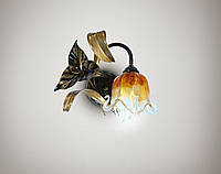 Светильник настенный, бра флористика 17201
