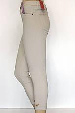 джинсы летние с вышивкой, фото 3