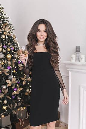 Черное платье футляр, фото 2