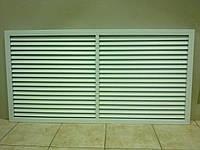 Решетка радиаторная пластиковая 1200мм*600мм белая