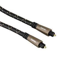 Оптический аудио кабель Toslink — Toslink 3 м Hama Optic Fiber