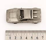 Модель автомобіля, Ferrari 512BB, мініатюра, олово, Franklin Mint, Малайзія, фото 7