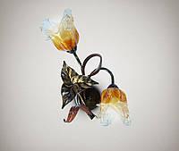Светильник настенный, бра флористика 17202