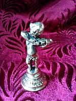 """Мальчик """"Скрипач"""" статуэтка из бронзы"""