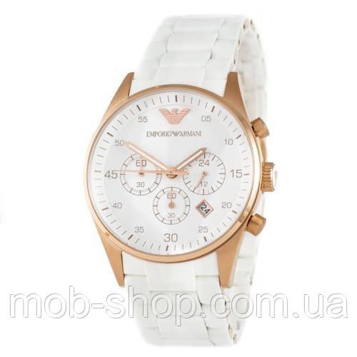 Наручные часы Emporio Armani AR-5905 Gold-White Silicone