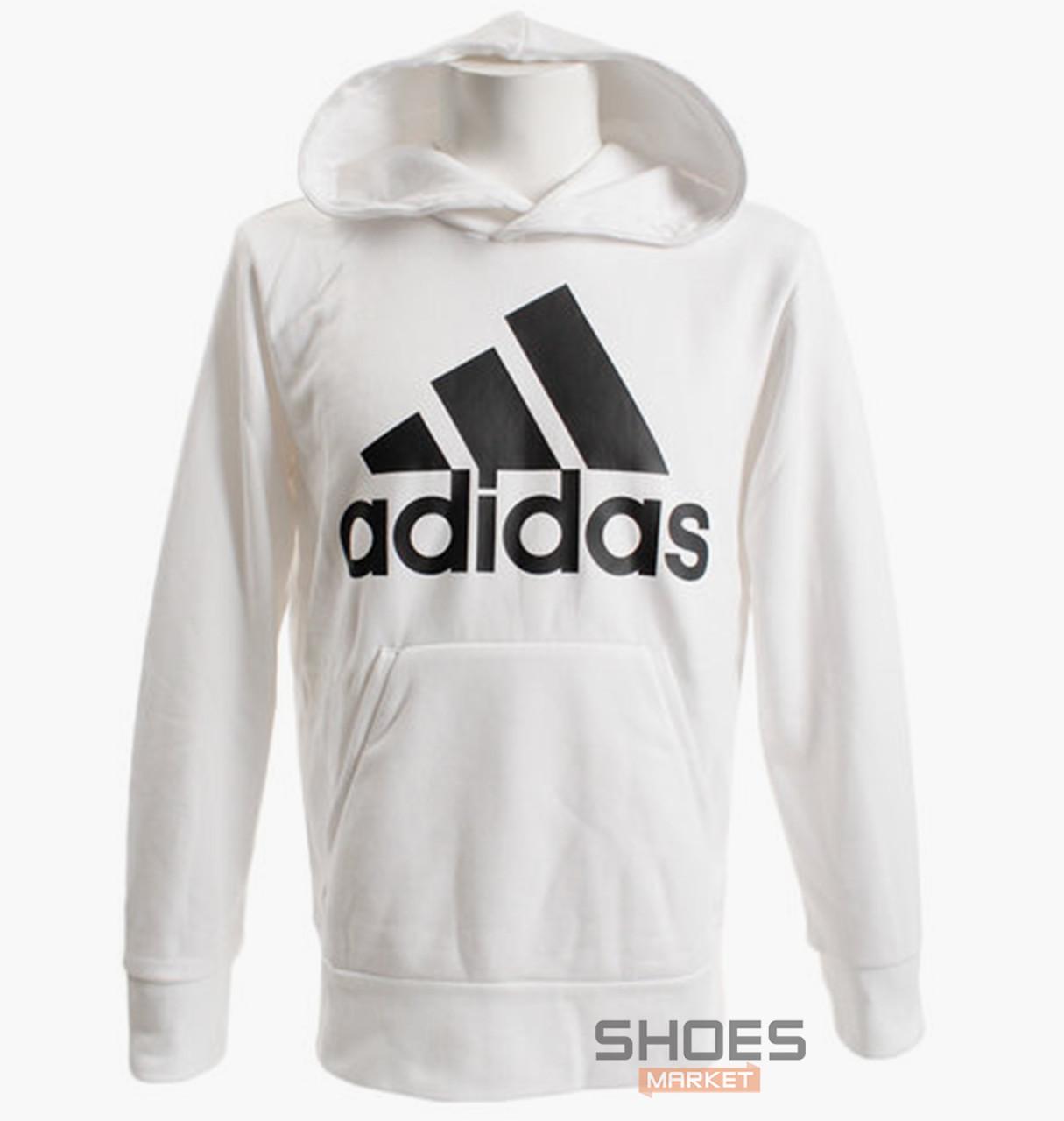 Толстовка Adidas White/Black CZ7526, оригинал