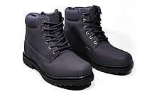 Зимние ботинки (на меху) женские  Timberland 11-041 (реплика)