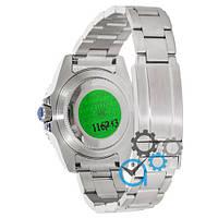 Наручные часы Rolex Submariner AAA Date Silver-Blue, фото 2
