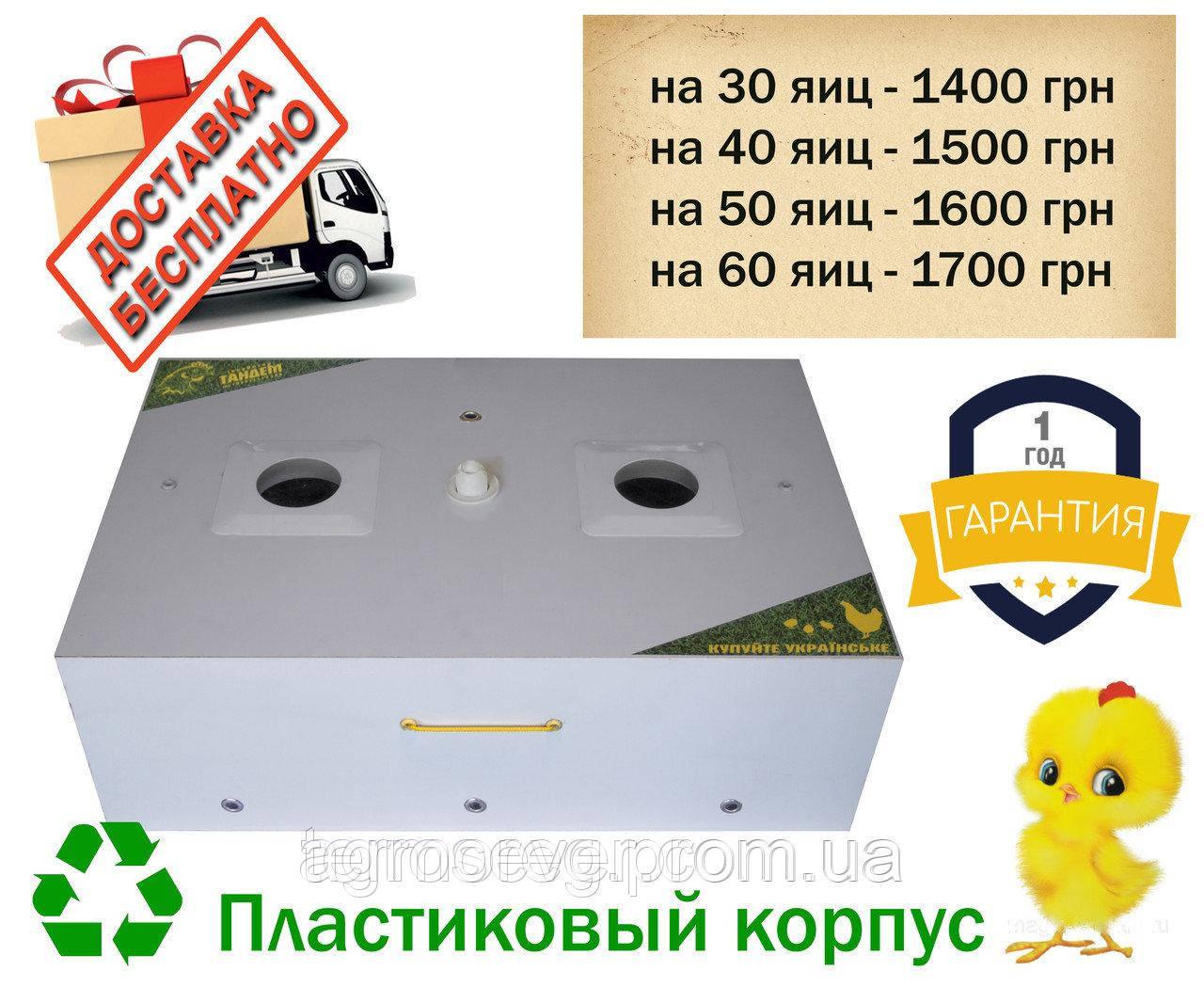 Инкубатор мини 40 Тандем (термокабель) на 40 куриных яиц