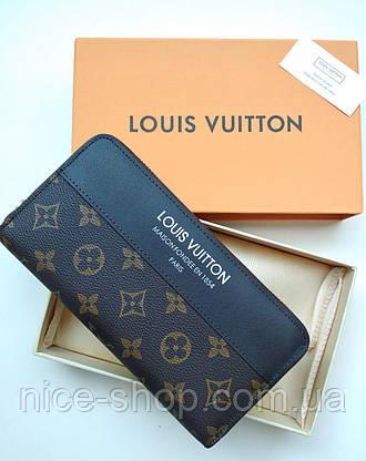Кошелек Louis Vuitton, кожа, монограмм, фото 3
