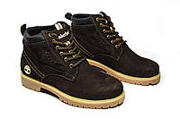 Зимние ботинки (на меху) женские Timberland (реплика) 13046
