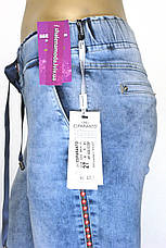Джинсы женские на резинке Esperanto с вышивкой, фото 3