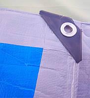 """Тенти """"Premium"""" 180 г/м2 поліпропіленові, тарпаулиновые з кільцями.Пологи (колір синьо-сірий)."""