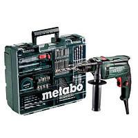 Дриль ударна Metabo SBE 650 БЗП + комплект приладдя
