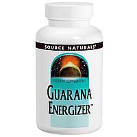 Гуарана, Source Naturals, 900 мг, 60 таблеток