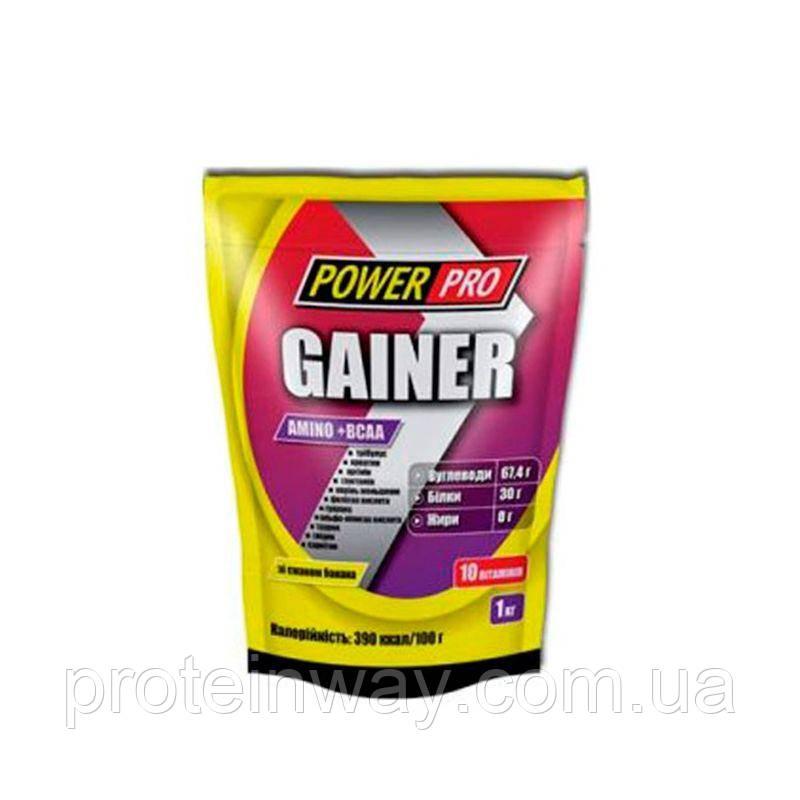 Гейнер Power Pro Gainer 30% 1000 г