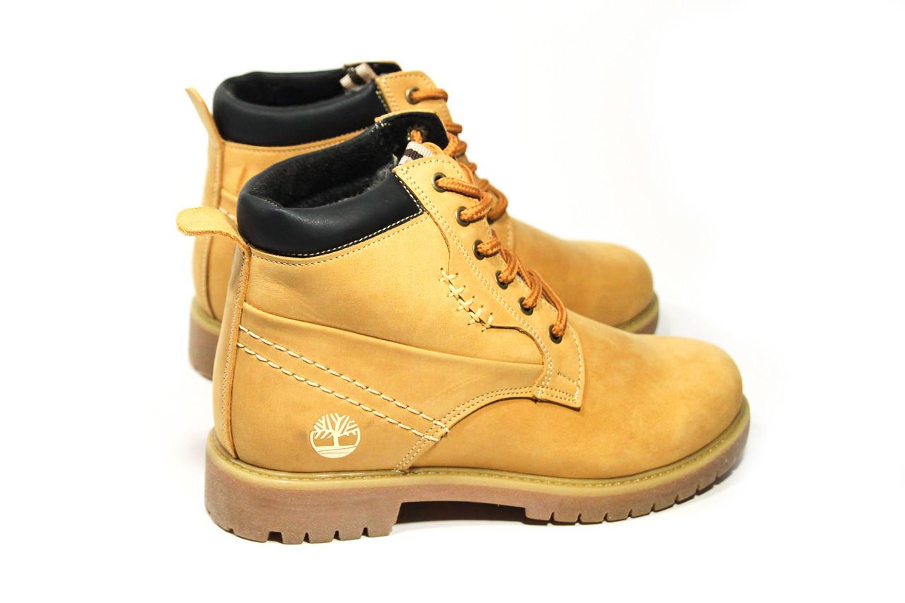 Зимние ботинки  (на меху) женские Timberland (реплика) 13047