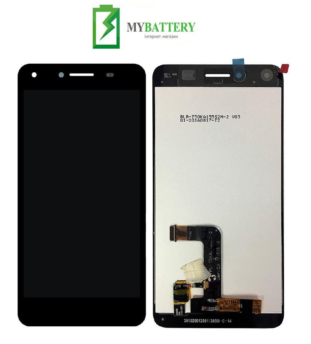 Дисплей (LCD) Huawei Y5 II (CUN-U29/Honor 5/Honor Play 5) с сенсором черный (версия 3G)