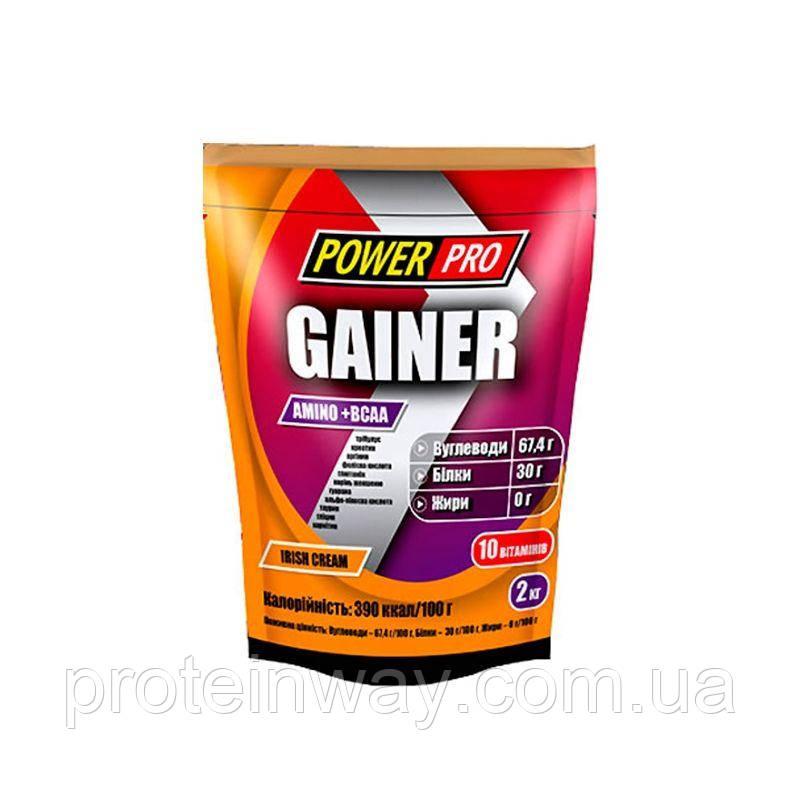 Power Pro Гейнер  Gainer 30% 2000 g