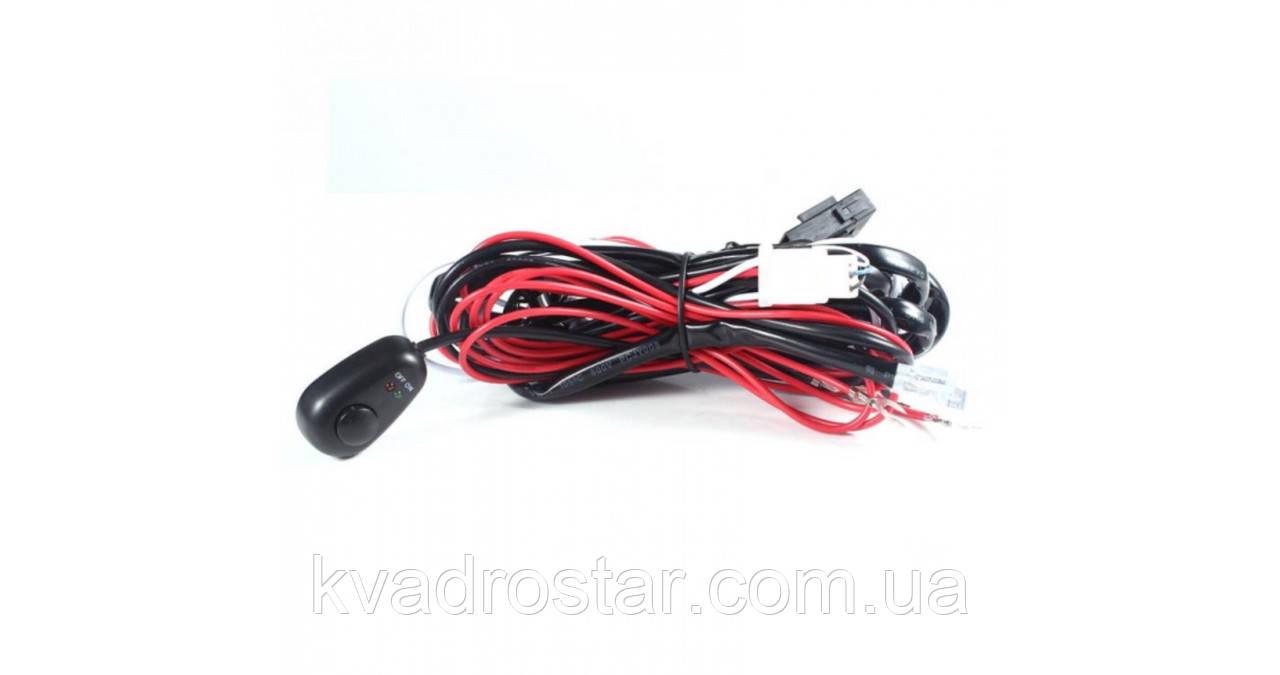 Комплект проводки для LED фар мощностью до 120W на квадроцикле, багги
