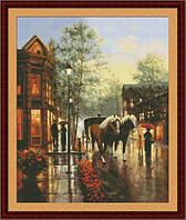"""Набор для вышивания крестиком """"Весенний дождь"""""""