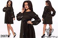 Женское стильное платье  ОКа256 (бат), фото 1