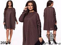 Женское модное платье  ОКа252 (бат), фото 1