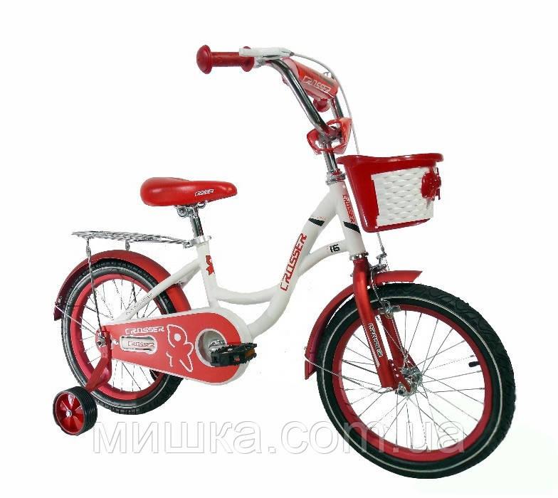 """Детский двухколесный велосипед Crosser JK-703 16"""""""