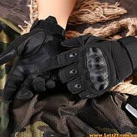 Тактические сенсорные перчатки с кастетом Oakley, Чёрные