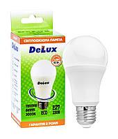 Лампа світлодіодна DELUX BL60 15Вт 3000K Е27 теплий білий