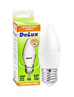 Лампа світлодіодна DELUX BL37B 7 Вт 2700K 220В E27 теплий білий