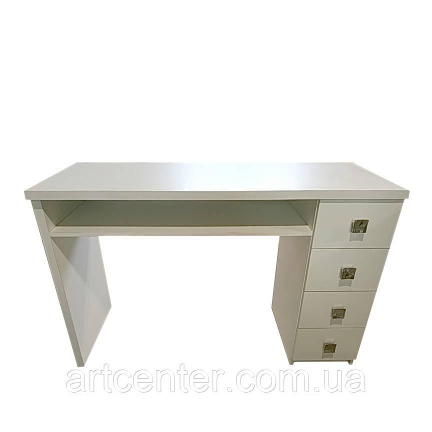 Стол для маникюра с выдвижными ящиками