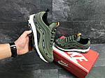 Мужские кроссовки Nike Air Max 97 (Зеленые) весна-осень, фото 3
